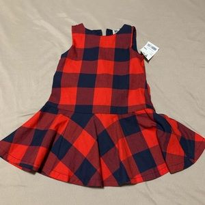 Baby girl plaid dress